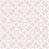 Naadloze abstracte bloemenpatronen Geometrisch uitstekend ornament Stock Afbeelding