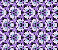 Naadloze abstracte caleidoscopische patronen Stock Foto's