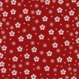 Naadloze abstracte de wintervecto Stock Afbeelding