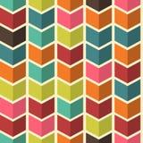 Naadloze Abstracte kleurrijke achtergrond met pijlen in moderne colo stock illustratie