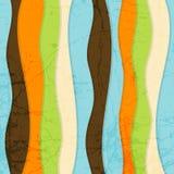 Naadloze Abstracte Kleurrijke Gestreepte VectorBackgrou stock illustratie