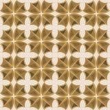 Naadloze abstracte ornamentillustratie Royalty-vrije Stock Foto's