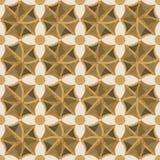 Naadloze abstracte ornamentillustratie Stock Fotografie
