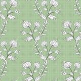 Naadloze abstracte patroon modieuze textuur op green op vlekkenachtergrond Royalty-vrije Stock Foto