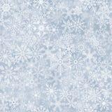 Naadloze abstracte sneeuwvlokachtergrond Royalty-vrije Stock Foto's
