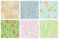 naadloze abstracte texturen Royalty-vrije Stock Afbeelding