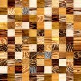 Naadloze achtergrond met houten patronen Stock Foto