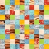 Naadloze achtergrond met houten patronen Stock Afbeeldingen