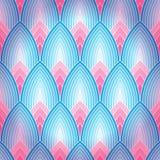 Naadloze achtergrond met lotusbloembloemblaadjes Royalty-vrije Stock Afbeeldingen