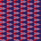 Naadloze achtergrond met nationale vlag van Noorwegen Patriottische achtergrond van Onafhankelijkheidsdag van Noorwegen Malplaatj royalty-vrije illustratie