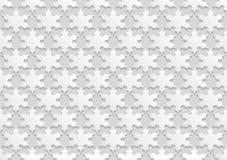 Naadloze achtergrond met sneeuwvlokken Stock Afbeelding
