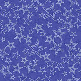 Naadloze achtergrond met sterren Stock Afbeeldingen