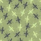 Naadloze achtergrond: mug vector illustratie