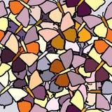Naadloze achtergrond van butterflys vector illustratie