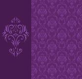 Naadloze achtergrond van een bloemenornament Royalty-vrije Stock Foto