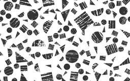 Naadloze Achtergrond van Geweven Geometrische Elementen Royalty-vrije Stock Foto's