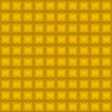 Naadloze achtergrond van gouden blokken. royalty-vrije illustratie