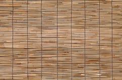 Naadloze achtergrond van het bamboe de houten blinde venster royalty-vrije stock fotografie