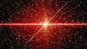 Naadloze achtergrond van het lijn de Rode Deeltje vector illustratie