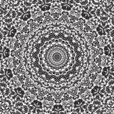Naadloze Achtergrond van het Patroon van het damast de Cirkel Stock Fotografie