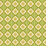 Naadloze achtergrond van het uitstekende scherpe patroon van de meetkundevorm Stock Afbeelding