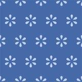 Naadloze achtergrond van kleine bloem Royalty-vrije Stock Foto's