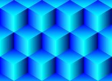 Naadloze achtergrond van kubussen Royalty-vrije Stock Foto's