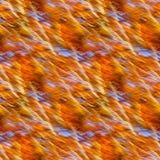 Naadloze achtergrond van motieonduidelijk beeld van bomen in een de herfstbos Royalty-vrije Stock Foto's