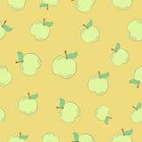 Naadloze appel Stock Fotografie