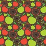 Naadloze appelachtergrond royalty-vrije illustratie