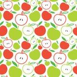 Naadloze appelachtergrond stock illustratie