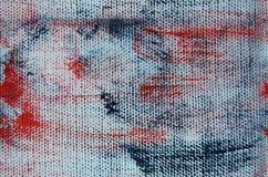 Naadloze backgorund: canvas textuur Stock Illustratie