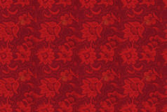 Naadloze backgorund: retro bloementextuur Stock Afbeelding
