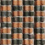Naadloze Bakstenen muur 18, Royalty-vrije Stock Foto