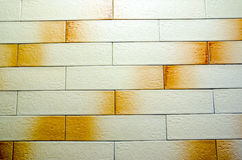 Naadloze bakstenen muur Royalty-vrije Stock Afbeeldingen