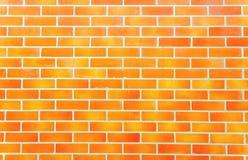 Naadloze bakstenen muurachtergrond Stock Afbeelding