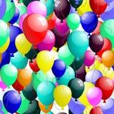 Naadloze ballons Stock Fotografie