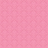 Naadloze barokke damast roze achtergrond Stock Fotografie