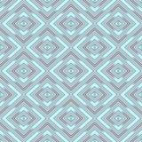 Naadloze behangruiten, azuurblauw geometrisch patroon vector illustratie