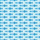 Naadloze blauwe achtergrond Royalty-vrije Stock Foto's