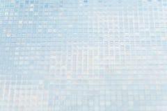 Naadloze blauwe de textuurachtergrond van glastegels Royalty-vrije Stock Foto's