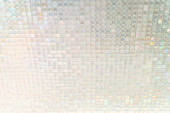Naadloze blauwe de textuurachtergrond van glastegels Royalty-vrije Stock Afbeelding