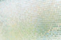 Naadloze blauwe de textuurachtergrond van glastegels Stock Afbeelding