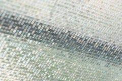 Naadloze blauwe de textuurachtergrond van glastegels, venster, keuken of Stock Afbeeldingen