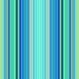 Naadloze blauwe en groene lijnen. Stock Fotografie