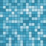 Naadloze blauwe tegelsachtergrond. Stock Afbeeldingen
