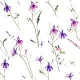 Naadloze bloem Stock Afbeelding