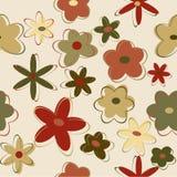 Naadloze bloemachtergrond Stock Afbeelding