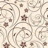 Naadloze bloemachtergrond vector illustratie