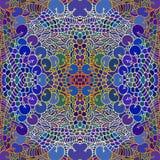 Naadloze bloemen abstracte achtergrond Royalty-vrije Stock Foto